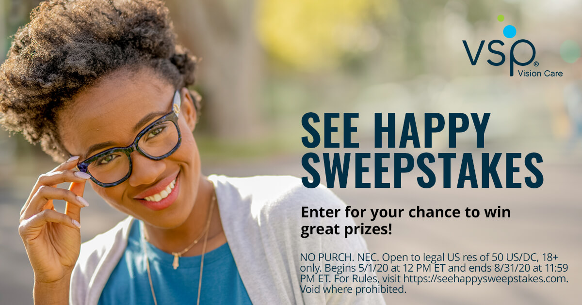 VSP See Happy Sweepstakes
