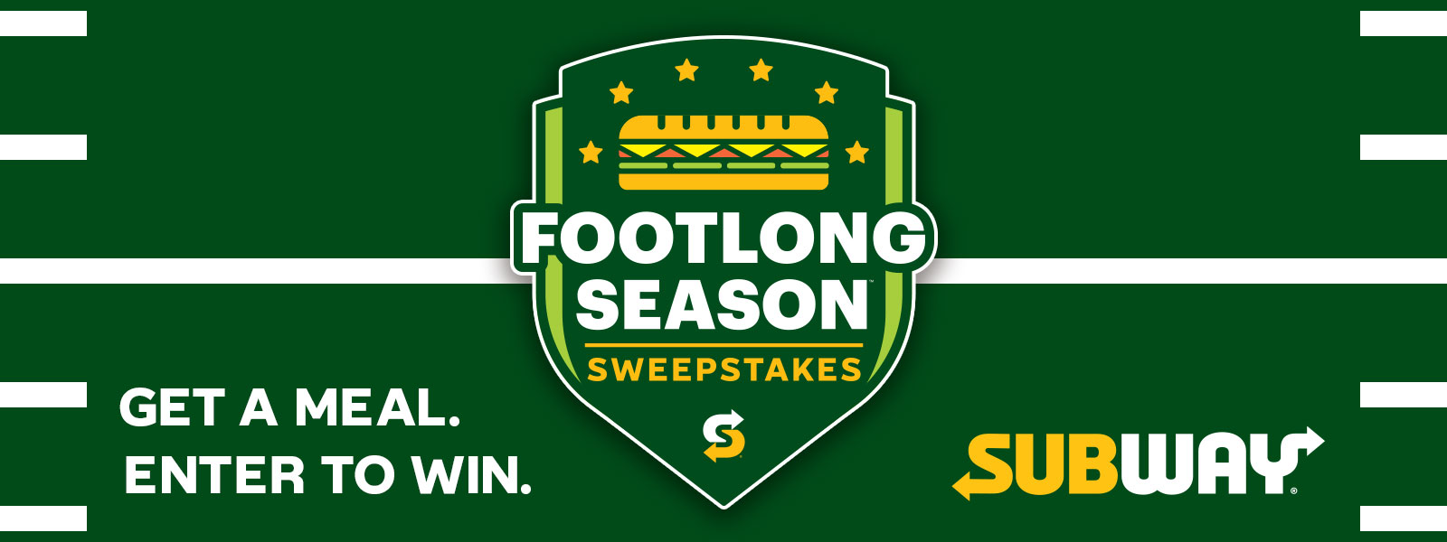 Subway Footlong Season Sweepstakes