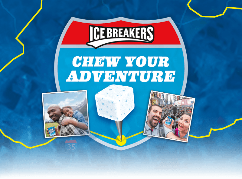 IceBreakers Chew Your Adventure Sweepstakes
