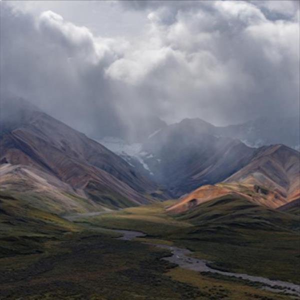 This inspirational photo was taken in Denali National Park from the Park Road while my wife and I were doing the Tundra Wilderness Tour.